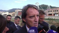La Nazionale rende omaggio alle vittime del Ponte