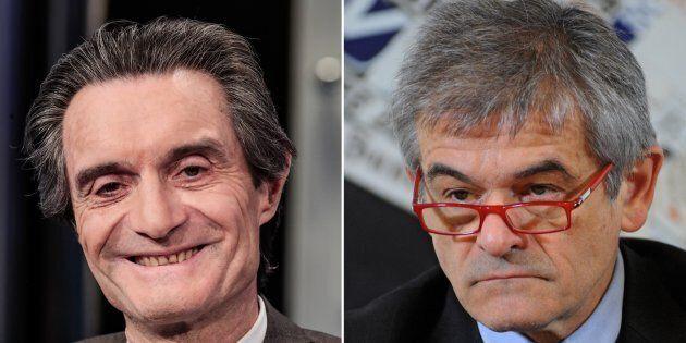 Attilio Fontana e Sergio