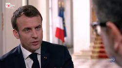 Ascolti tv, Macron da Fazio pareggia con la fiction di Canale