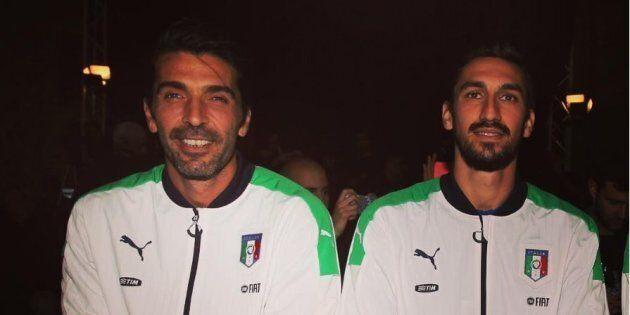 Buffon, Bonucci e Nainggolan ricordano Astori: