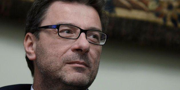 Giancarlo Giorgetti, not an englishman in New