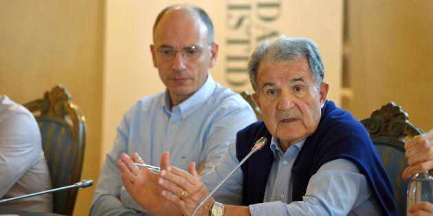 Romano Prodi ed Enrico Letta, ritorno a