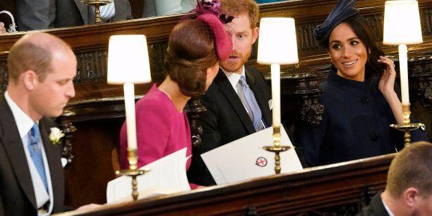 Meghan e Kate incantano per stile ed eleganza alle nozze reali di
