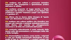 Ministre M5S contro volantino dei giovani leghisti di Crotone per l'8 marzo: