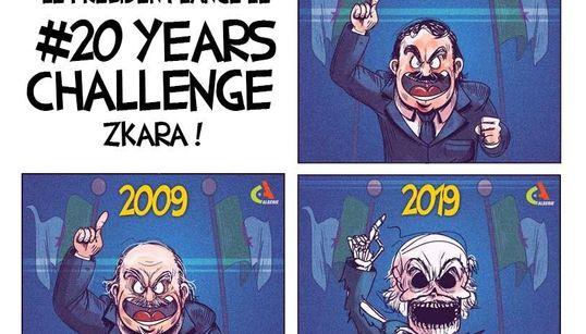 L'Andalou, l'algerino che sfida Bouteflika a colpi di vignette, all'Huffpost: