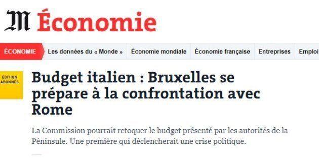 Le Monde: