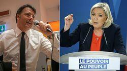 Duello Renzi-Le Pen sulla tv pubblica