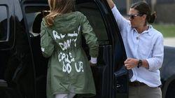 Melania Trump svela perché ha indossato la giacca con scritto: