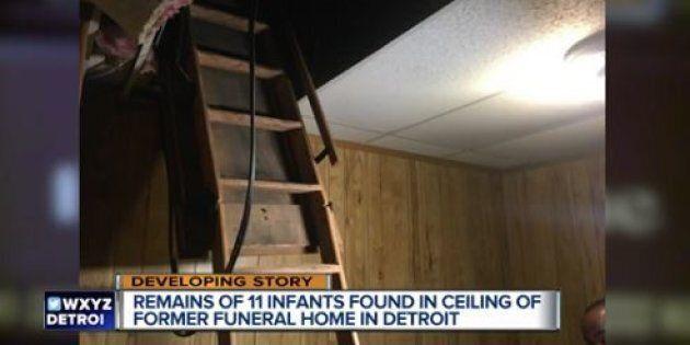 Resti di 11 neonati ritrovati in una ex agenzia di pompe funebri a