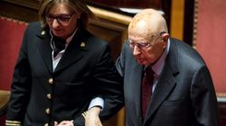 Napolitano al Senato dopo l'intervento al cuore. Casellati: