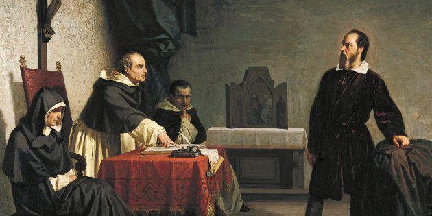 Galileo Galilei davanti