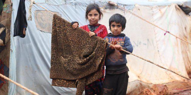 Bambini siriani annientati dalla