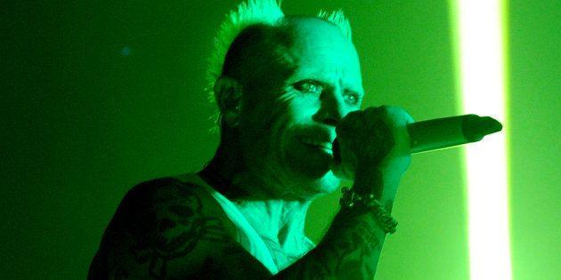 Keith Flint, cantante dei Prodigy, si è