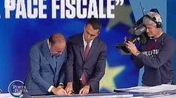 Di Maio e Vespa cancellano con un tratto di penna parti del Decreto Fiscale: