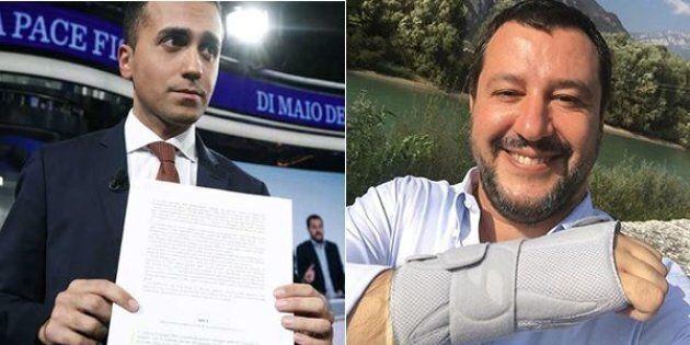 La frattura della manina. Bordate Lega/M5S, per Salvini il decreto fiscale