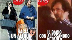 Dopo la fine della storia con Salvini, Elisa Isoardi bacia un altro