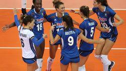Paola, Lia, Anna, Monica, Miriam e Lucia insegnano che l'Italia non deve darsi per