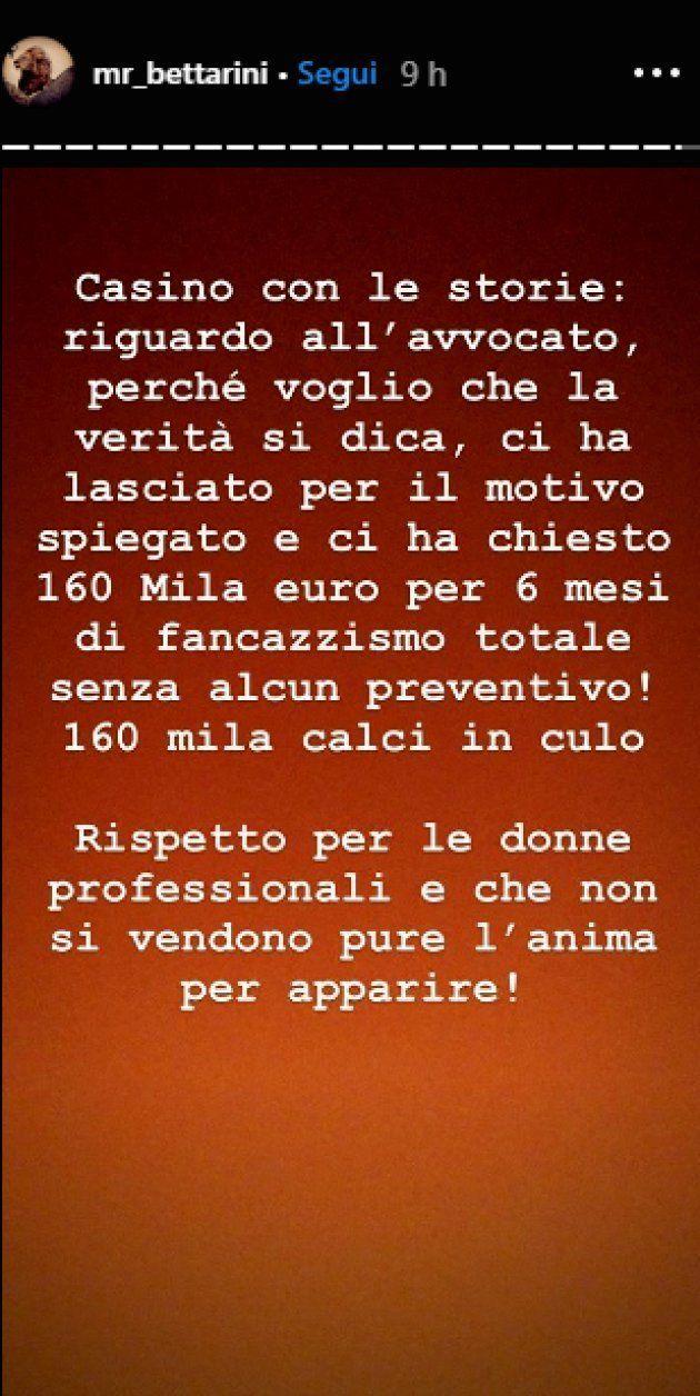 Scarcerano il suo aggressore, la rabbia di Niccolò Bettarini: