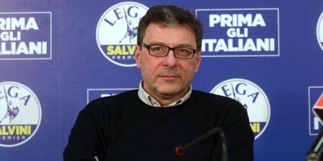 Giancarlo Giorgetti fa il campione