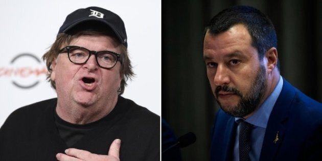 Michael Moore all'attacco: