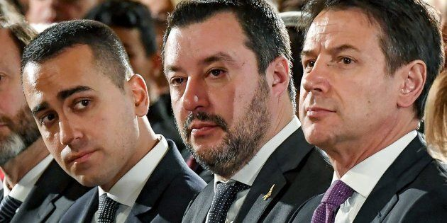 Luigi Di Maio, Matteo Salvini, Giuseppe