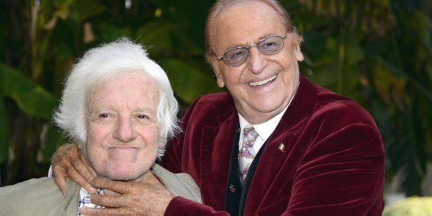 Mario Marenco (a sinistra) e Renzo
