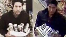 Il video del ladro sosia di Ross di Friends diventa virale. La risposta dell'attore è