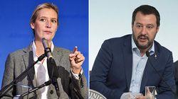 L'estrema destra tedesca prende le distanze da Salvini: