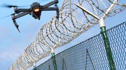 Piovono droni sul carcere di Taranto, all'interno cellulari e