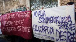 San Lorenzo litiga su Desiree: alla fiaccolata urla contro gli immigrati, ma il comitato di quartiere non