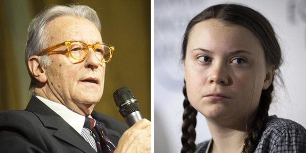 Vittorio Feltri attacca Greta Thunberg:
