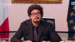 Crozza-Toninelli e il blocco delle Grandi Opere: