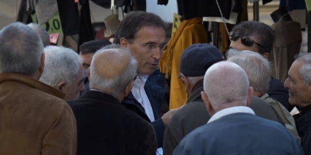 Francesco Boccia ai mercati rionali di