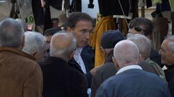 Francesco Boccia nei mercati rionali di Torino: