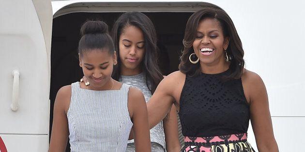 Michelle racconta l'infanzia delle figlie alla Casa Bianca: