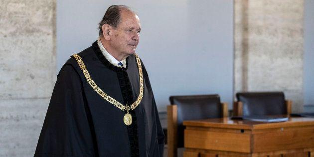 Giorgio Lattanzi, presidente Corte