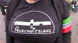 Forza Nuova sospende la militante con la maglietta shock su