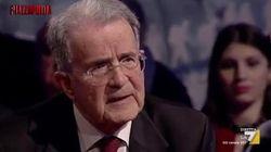 Sfida tv a distanza, Prodi a PiazzaPulita batte Di Maio e Salvini a Dritto e