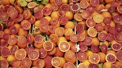 Arance rosse nella rossa