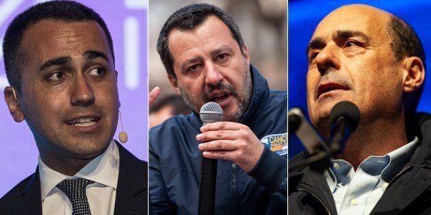Di Maio, Salvini e