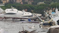 Liguria devastata dal maltempo: aeroporto chiuso a Genova,