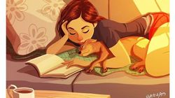 Queste illustrazioni tenerissime dimostrano che i cani sono i coinquilini