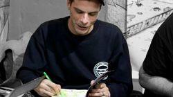 Alessandro Caligaris, street artist di Torino, è morto a 37 anni soffocato da un
