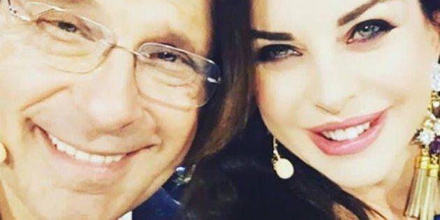 Alba Parietti ricorda Fabrizio Frizzi a un anno dalla morte: