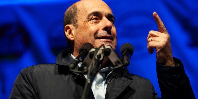 POTENZA, ITALY - MARCH 18: Nicola Zingaretti governor of Lazio and secretary of the Democratic Party...