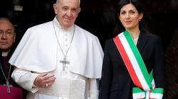 Papa Francesco in Campidoglio chiede una