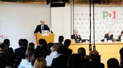 Zingaretti annuncia il simbolo del Pd con scritta