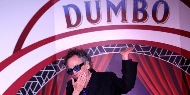"""Tim Burton: """"Il mio Dumbo? Un diverso, un emarginato che alla fine ce la"""