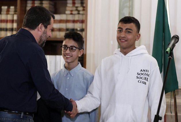Incontro tra Salvini, Adam e