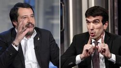 Scontro Salvini-Pd sul condono.